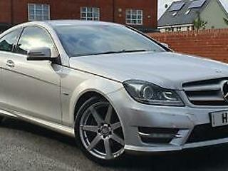 Mercedes Benz C180 1.8 BlueEFFICIENCY AMG Sport 2DR+AUTOMATIC
