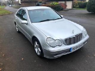 Mercedes Benz C180 Kompressor 1.8 auto 2004MY Avantgarde SE