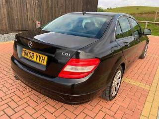 Mercedes Benz C220 2.1TD automatic 2008 CDI SE 1 year warranty included