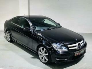 Mercedes Benz C220 CDi AMG Sport Edition Premium Auto Black 2014 C Class Coupe