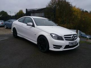 Mercedes Benz C220 CDI Coupe Blue Efficiency AMG Sport Tiptronic SAT NAV