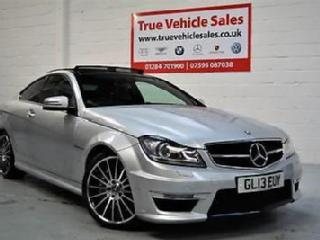 Mercedes Benz C63 AMG 6.3 V8 457bhp Coupe 3.9% APR FINANCE £399 PER MONTH