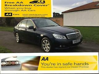 Mercedes Benz C CLASS, 200 2.1CDI Blue F 7G Tronic MY CDI SE Edition