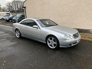 Mercedes Benz CL500 5.0 auto 51 reg immaculate low miles cards accepted