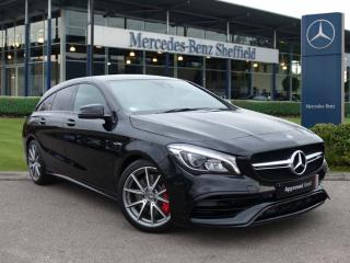 Mercedes Benz CL Class CLA CLA 45 Night Edition Plus 4Matic 5dr Tip Auto Estate 2019, 196 miles, £37500