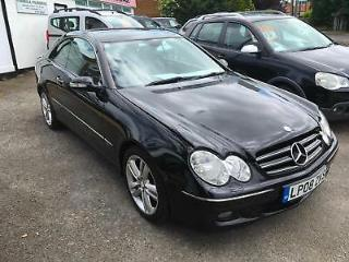 Mercedes Benz CLK220 2.2TD CDI Automatic Avantgarde Coupe, Climate,Leather, 2008