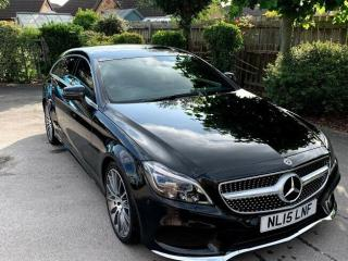 Mercedes Benz CLS 350d Shooting Break 2015 AMG line Black Edition