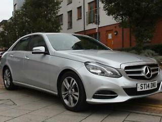 Mercedes Benz E220 2.1CDI AUTOMATIC 7G Tronic Plus 2014 CDI SAT NAV LEATHER