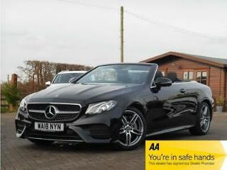 Mercedes Benz E300 2.0 245ps s/s 9G Tronic 2018 AMG Line Convertible