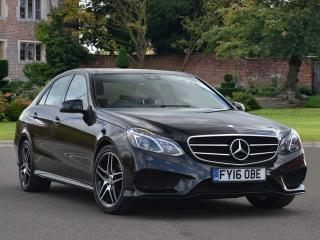 Mercedes Benz E Class E250 AMG Night Edition Premium 4dr 7G Tronic Saloon 2016, 15657 miles, £23992