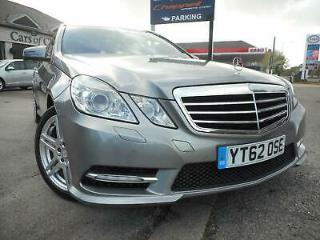 Mercedes Benz E Class E250 CDI BLUEEFFICIENCY SPORT Auto with Sat Nav and servi