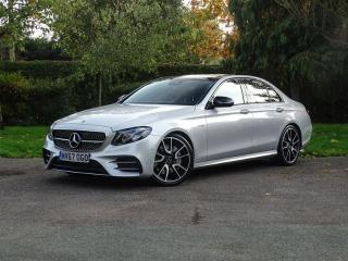 Mercedes Benz E Class E43 AMG 4MATIC PREMIUM PLUS SALOON 9 SPEED AUTO Saloon 2017, 20000 miles, £34948