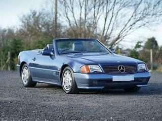 Mercedes Benz SL 300 R129 Auto Blue 58,000 Miles Immaculate Condition