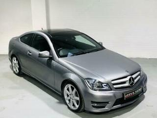 Mercedes C220 AMG Sport Edition Coupe 2014 Grey Diesel Auto C Class