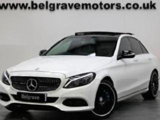 Mercedes C220 BLUETEC SPORT 19 AMG LINE ALLOYS PAN ROOF SAT NAV