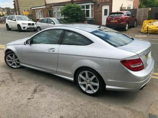 MERCEDES C220 CDI SPORT 2012 COUPE AMG BLUE EFFICIENCY SUPURB CONDITION
