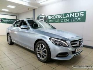 Mercedes C Class C200 SPORT [5X MERCEDES SERVICES, SAT NAV, LEATHER and REVERSE