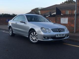 Mercedes CLK 220cdi Elegance with 73k miles automatic H.P.I Clear With Sat nav