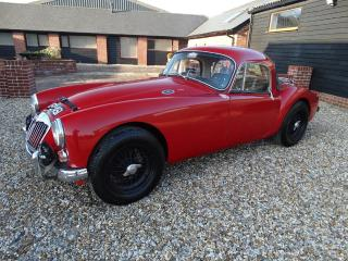 MG A FIXED HEAD COUPE 1960 Other 1960, 92000 miles, £18950