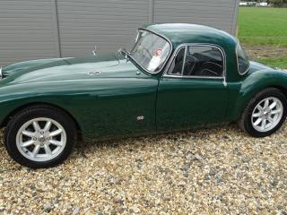 MG A FIXED HEAD COUPE UPRATED 1957, 50000 miles, £19950