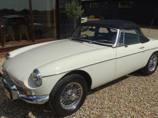 MG B roadster Convertible 1972, 47000 miles, £9750