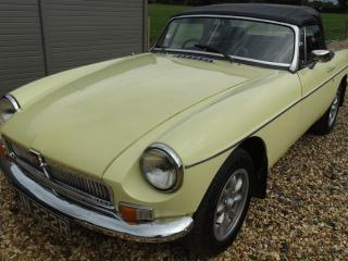 MG B ROADSTER OVER DRIVE 1976, 72000 miles, £5750
