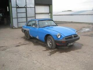 MG BGT 1978 Part completed project Welding done, ideal winter project