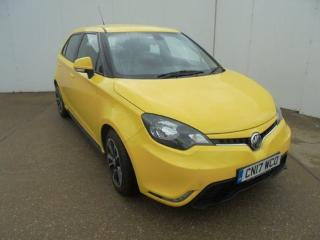 MG MG3 1.5 VTi TECH 3Style 5dr [Start Stop] Hatchback 2017, 17497 miles, £6592