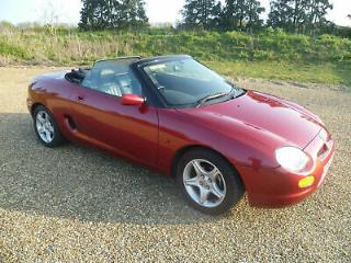 MG/ MGF MGF 1.8i VVC 1 OWNER FROM NEW VERY LOW MILEAGE