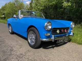 MG MIDGET 1500 CHROME BUMPER CONVERSION WITH £10000 RECENTLY SPENT ON HER