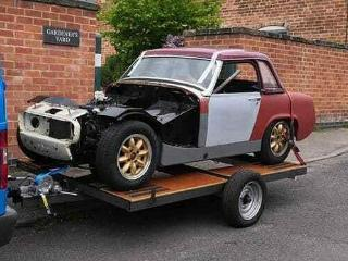 MG Midget Historic race car project 1967 PX considered