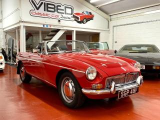 MGC Roadster 1968 / University Motors Supplied UK Car / Documented Restoration