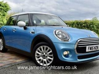MINI 1.5 COOPER D 5DR HATCH DIESEL CHILLI AND MEDIA XL WITH NAVIGATION