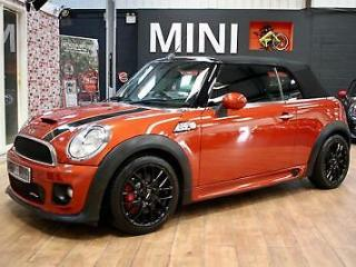 MINI CONVERTIBLE John Cooper Works Orange Manual Petrol, 2014