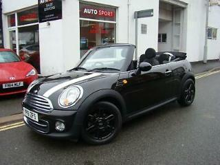 MINI COOPER 1.6 CONVERTIBLE, 2011 WITH 55000 MILES, STUNNING CAR