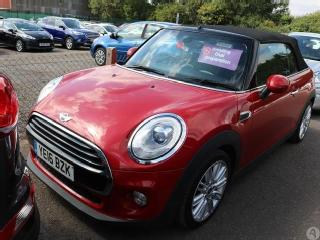 MINI Cooper Convertible 1.5 Chili Pack 2dr Convertible 2016, 33104 miles, £12499