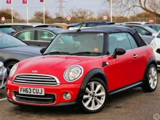MINI Cooper Cooper 1.6 2dr Chili Pack Leather Convertible 2014, 37400 miles, £9399