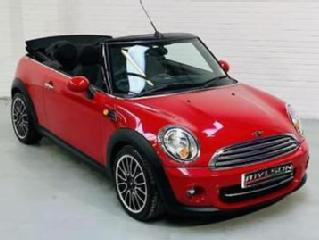 MINI Cooper D Convertible Cabriolet 1.6 Diesel Manual Red 2011 R56