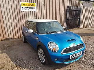 Mini Cooper S 1.6 175bhp Manual Petrol Blue 3 Door Hatchback 2007 Reg
