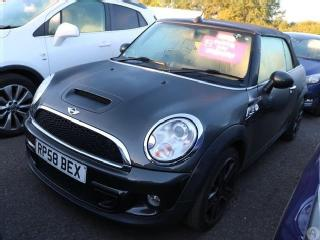 MINI Cooper S Convertible 1.6 2dr Chilli Pack Convertible 2011, 43600 miles, £8799
