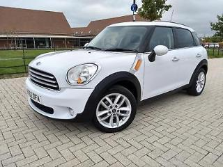 MINI COUNTRYMAN COOPER D White Manual Diesel, 2012