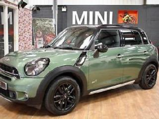 MINI COUNTRYMAN COOPER SD ALL4 Green Manual Diesel, 2016