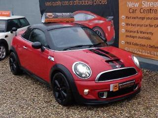 MINI COUPE 2.0 COOPER S D 2dr Red Manual Diesel, 2013