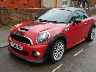Mini Coupe SD 2.0 Diesel Automatic Sat Nav DAB Leather YE61 XAG 72,000 miles