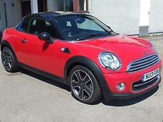 MINI COUPE Start Stop Cooper 2013 Petrol Manual in Red
