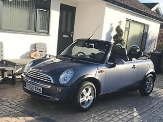 MINI ONE CONVERTIBLE 2005 1.6 FULL SERVICE HISTORY 78.000 MILES