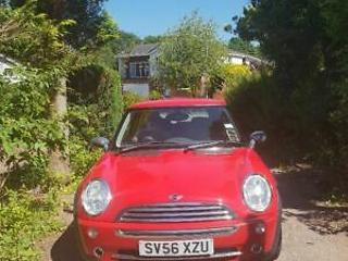 Mini One Red 56 plate