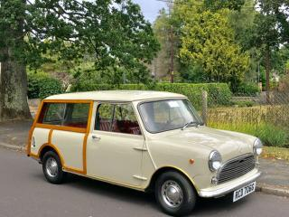 Mini Traveller woody. Innocenti T. Excellent condition throughout
