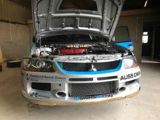 MITSUBISHI EVO 9 RALLY CAR GROUP N Please See Link in Advert for many Photos