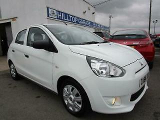 MITSUBISHI MIRAGE 1 SUPER ECO 1.0 PETROL 5 DOOR White Manual Petrol, 2015